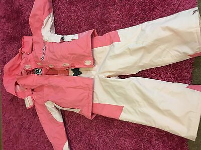Girls Snow Coat And Trousers