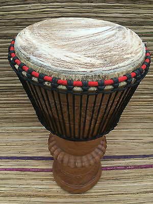 Genuine African Bougarabou Drum - Smooth Drum Head