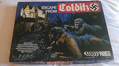 Escape from Colditz 1970s Board Game, complete