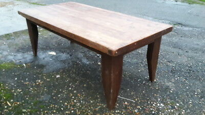 Large Farmhouse Style Solid Oak Dining Table  Delivery Available