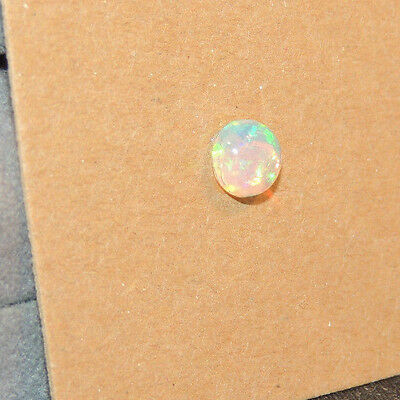 Ethiopian Opal Cabochon 6mm with 3.5mm dome (11525)