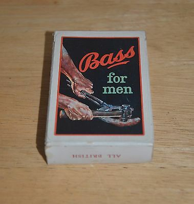 Bass For Men Playing Cards by John Waddington