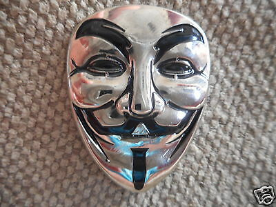 "RARE ""Mask"" Pin 1 FREE SHIPPING (Heady Dab Guy Fawkes Grateful Dead Hat Pins)"