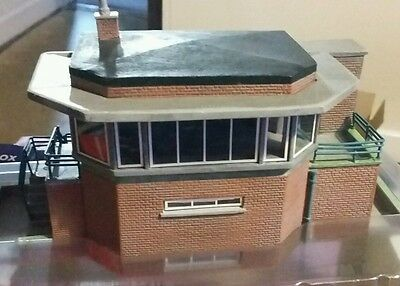 Bachmann Scenecraft Hampton Hill Signal Box New & Boxed 00