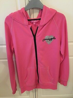 Girls Pineapple Hooded Jacket Age 12-13