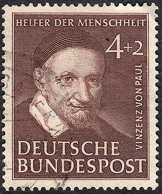 Germany (West) 1951 4pf+2pf von Paul Fine Used