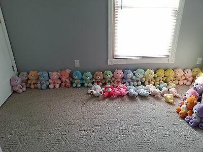 Huge 40 Lot Auction Care Bear Collection Originals & Releases