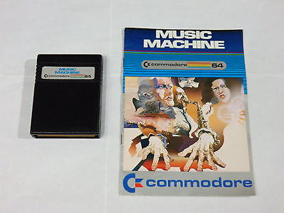 Music Machine Cartridge for Commodore 64 & 128 *Tested*