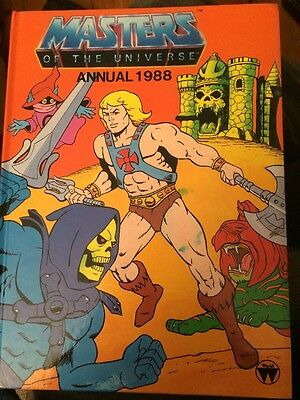 masters of the universe Annual 1988