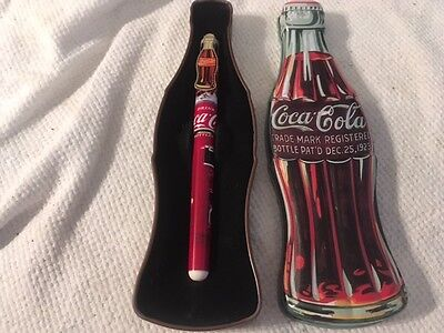 1996 Coca Cola Pen & Tin Box