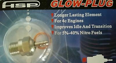 RC Nitro Glow Plug HSP number N4 Medium Hot