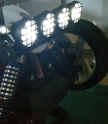 1/10 1/8 RC Car Buggy Truck Led Lights Set Bright White 5 Modes