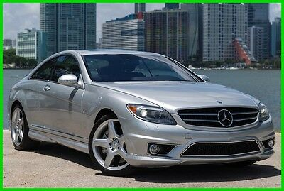 2008 Mercedes-Benz CL-Class CL65 AMG® 2008 CL65 AMG Used Turbo 6L V12 36V Automatic RWD Coupe Premium Moonroof