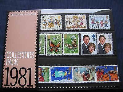 1981 Collectors Pack~SG 1143/74