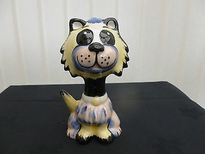 "Lorna Bailey "" Muppet "" Cat Brand New Hand Painted & Signed"