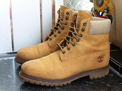 Men's Light Brown Timberland 28552 Boots Size Us 11W