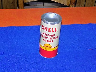 Vintage, Shell Oil, detergent cooling system oil can, (nos) and full