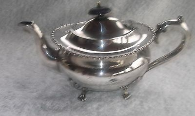 Vintage Silver Plated E P  Teapot Stamped P G & Co