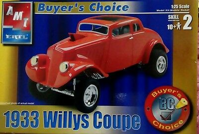 AMT ERTL 1/25 Buyers Choice 1933 Willys Coupe Gasser