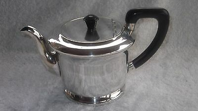 Vintage Silver Plated E P N S   Teapot Stamped E P N S Sheffield England