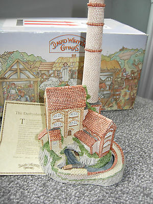 David Winter Cottages Derbyshire Mill1987 Mint Boxed & COA