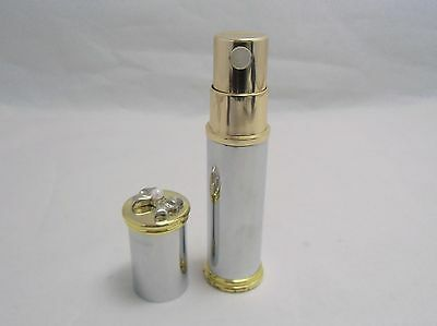 Mikimoto Atomizer with Pearl / Dropper / Velvet pouch 100%Authentic!