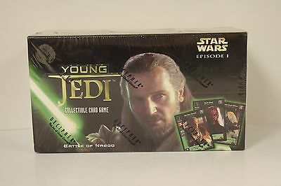 Star Wars - Young Jedi CCG: BATTLE OF NABOO Starter Deck Box - Decipher - SEALED