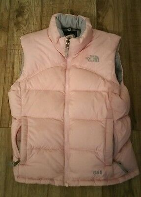 Girls north face gilets