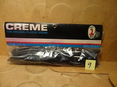 """20 Count Creme 7 1//2/"""" Scoundrel Worm New//Old Stock Grape"""