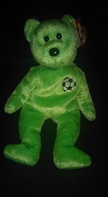 "Excellent Condition Original Ty Beanie Baby "" Kicks ""  Rare"