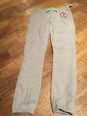 Girls Converse All star Jogging Bottoms 10-12 BNWT