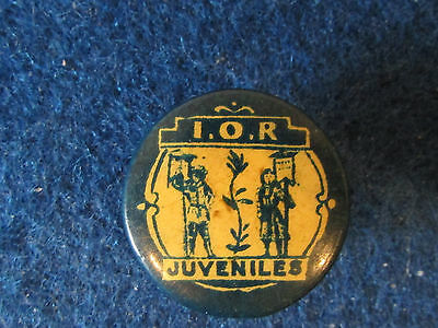 Vintage Badge - Independent Order of Rehabilitated Juvenilles