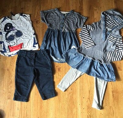 Next Lovely Outfits / Bundle Age 3 Years Leggings/ Tshirt/ Pretty Tops All Next