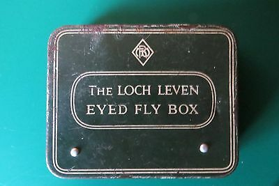 Loch Leven Fly box with Vintage Trout flies