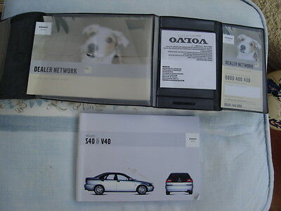 Volvo S40 Handbook Owners Manual And Wallet Pack Tp 6425