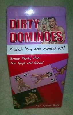 Dirty Dominoes Game for Adults New Sealed