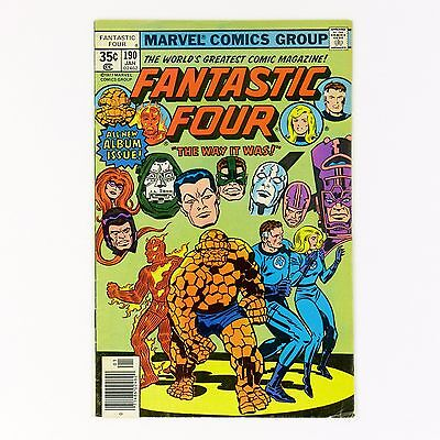 Fantastic Four #190 -- bronze age Marvel comic (FN- | 5.5)