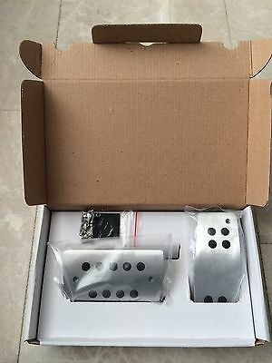 Hirsch lookalike pedal set for Saab 9-3 or 9-5 (automatic transmission!!)