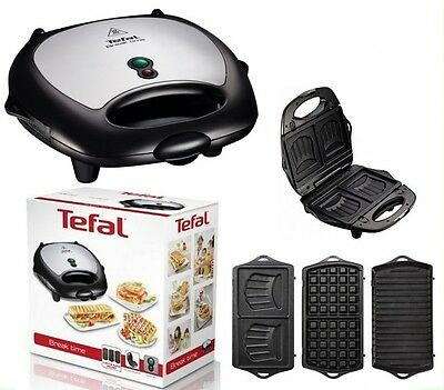 TEFAL Toaster Waffle GRILL 3in1 SW6148