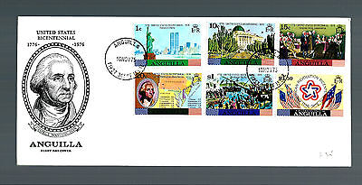 Anguilla first day cover 1975  (3844)