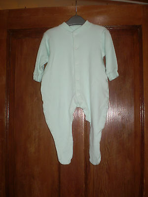 Mothercare green babygro Size 3-6 mths