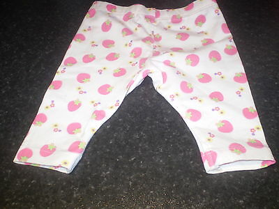 Mothercare white leggings Size 3-6 mths Pair of
