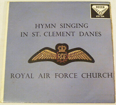 ROYAL AIR FORCE CHURCH St. Clement Danes Ex Decca 59 P/S Stereo EP