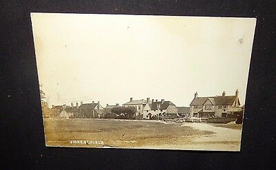 Village Green Barley Mow Public House Stokenchurch old postcard RP 1916