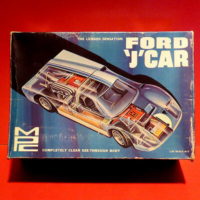 --Rare FORD J-CAR with CLEAR Body Factory Bagged - 1/25 MPC