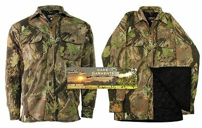 Stormkloth Camouflage Diamond Quilted Padded Shirt. Hunting / Shooting / Fishing