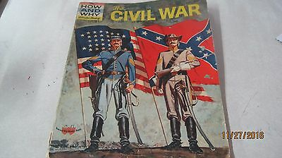 Vintage The How and Why Wonder Book of the Civil War 1961 Centennial