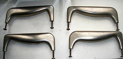 modenist industial style handles x 4