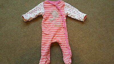 Mothercare walk in wadded sleepsuit. 3-6 months.