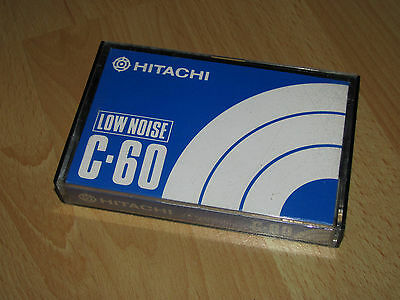Hitachi C 60 Vintage Audio Tape Cassette selten rare 1972 top Zustand